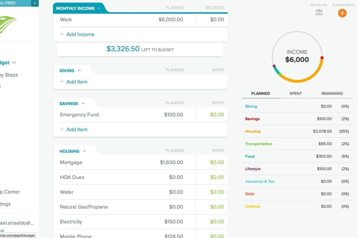 photo image EveryDollar review: Baby steps to budgeting