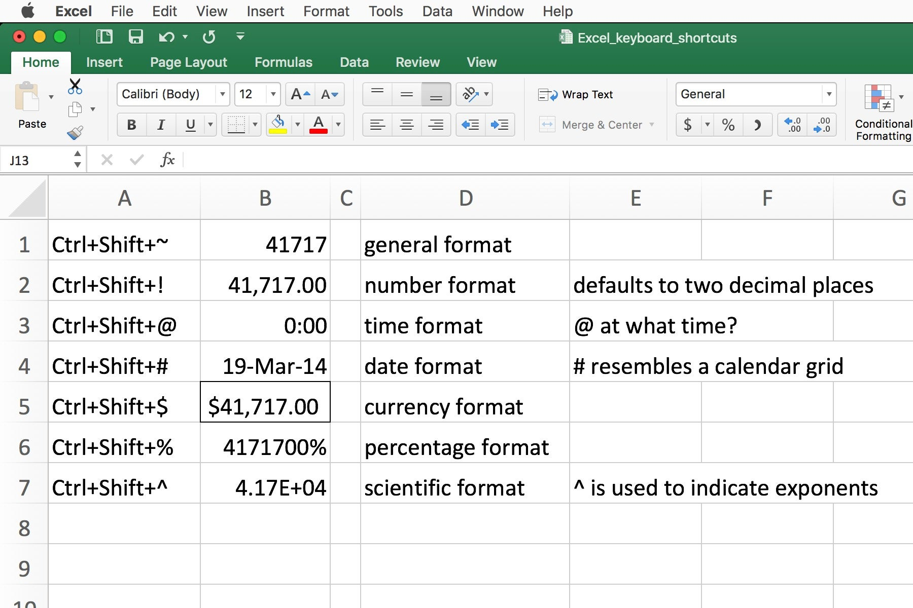 10 Incredibly Useful Excel Keyboard Tips Computerworld