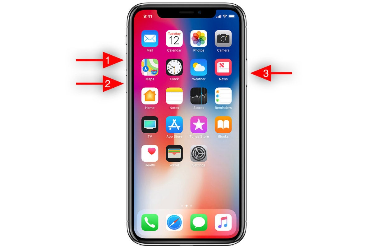 Wie Sie Ihr iPhone ausschalten und neu starten X