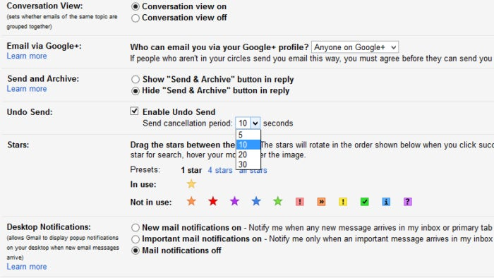 how to undo send in gmail 3
