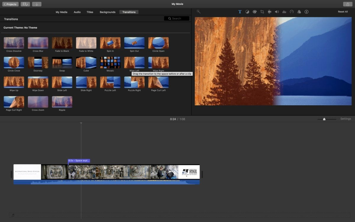 Q. How do I save an unfinished iMovie project for completion later?