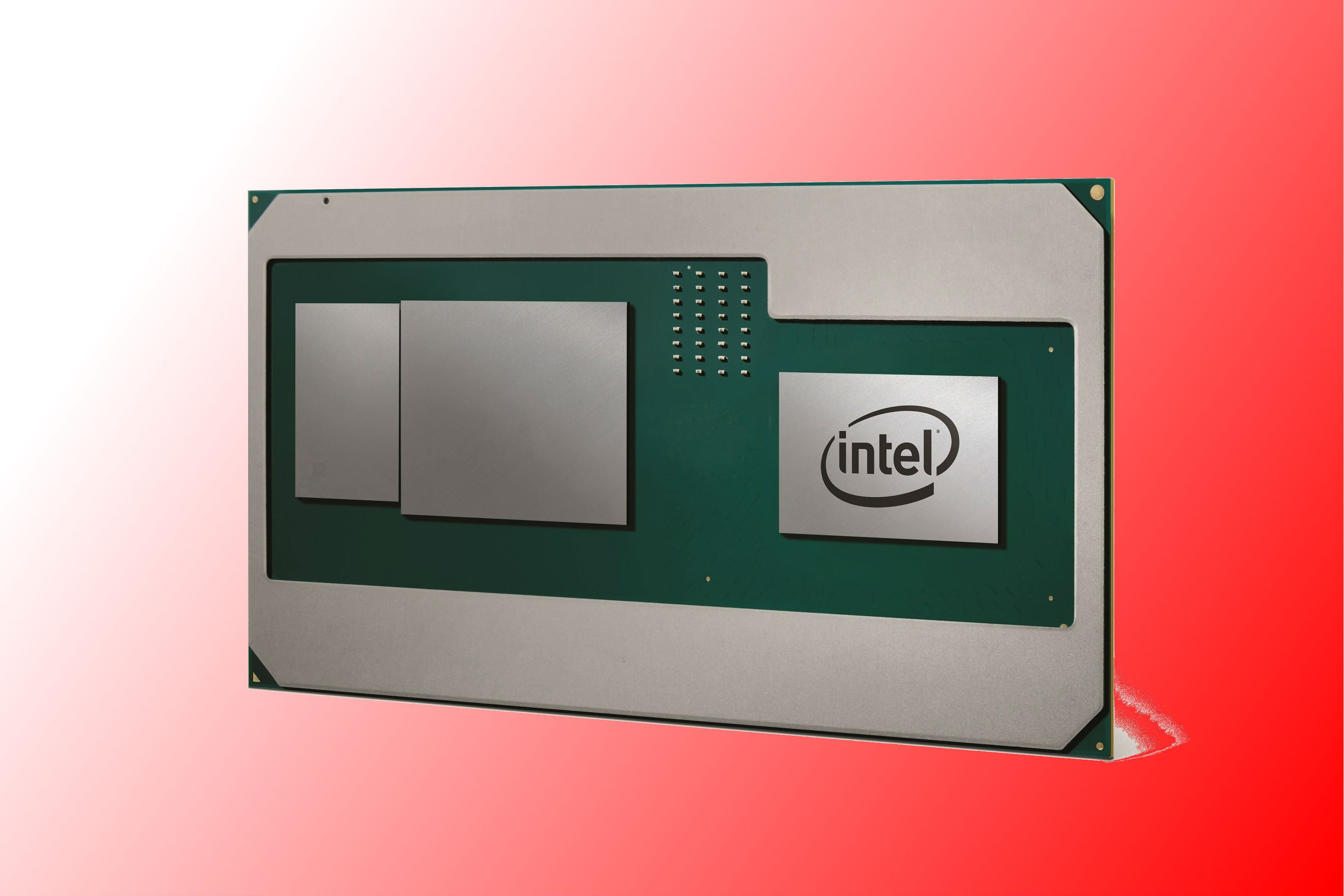 Intel And Amd Team Up A Future Core Chip Will Have Radeon Graphics Custom Cpu Gpu Processing Unit Enhanced Circuit Board Design Inside Pcworld