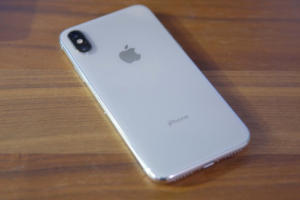 iphone x back silver