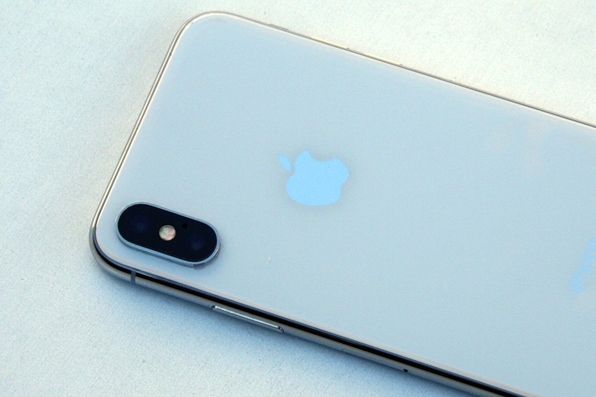 iphone x camera back silver review
