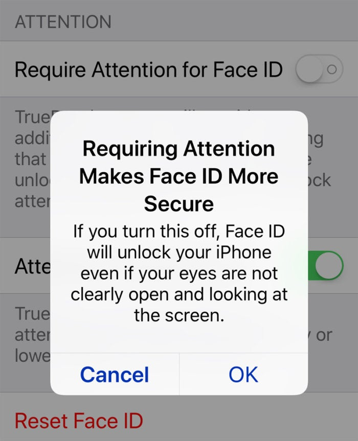 Can You Turn Off Face Id On Iphone X