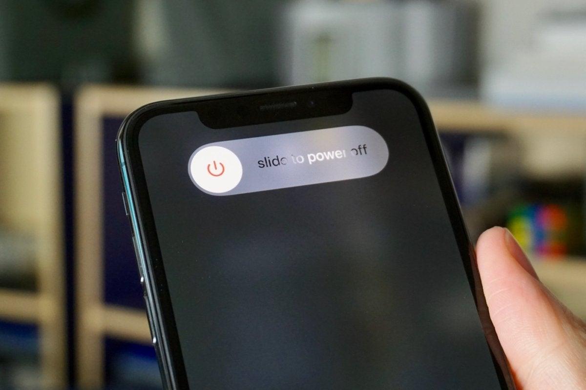 iphone x neu starten tasten