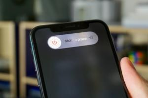 iphone x power off