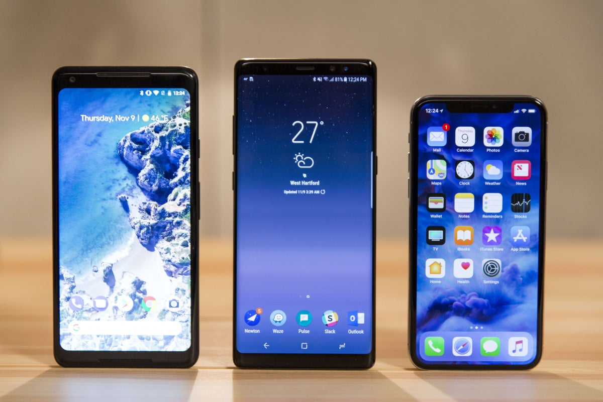 IPhone X Vs Note 8, Pixel 2, And V30 Is A Surprisingly Lopsided Affair