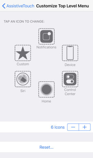 iphonex assistivetouch