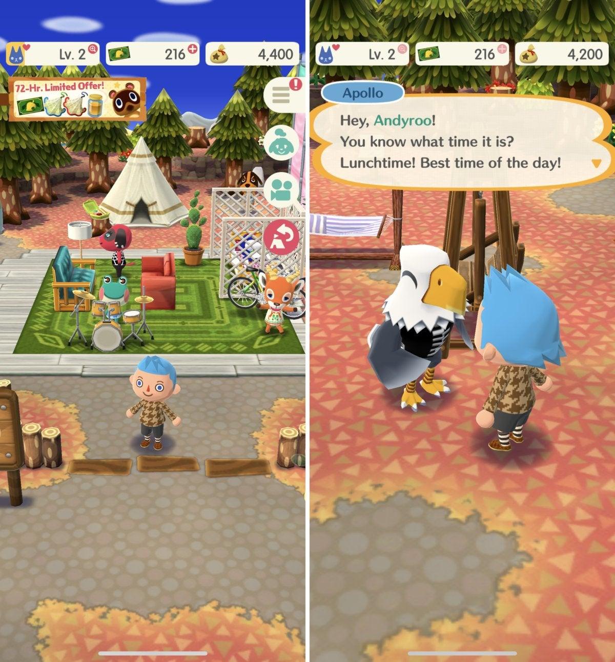iphonex games animalcrossing