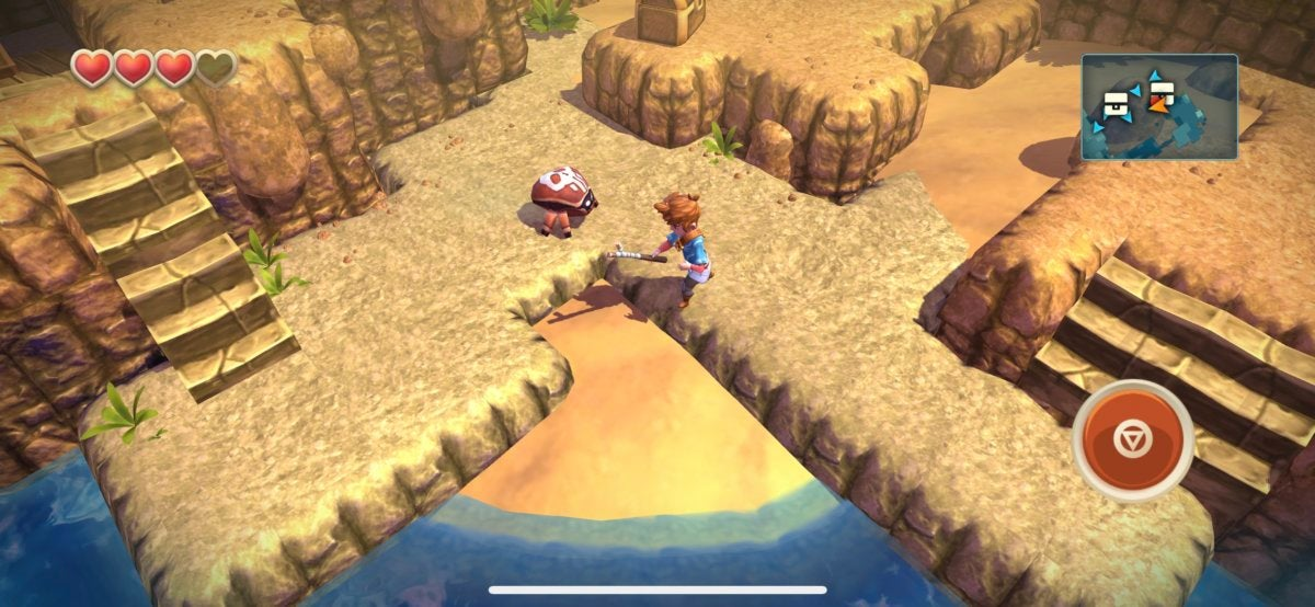 iphonex games oceanhorn