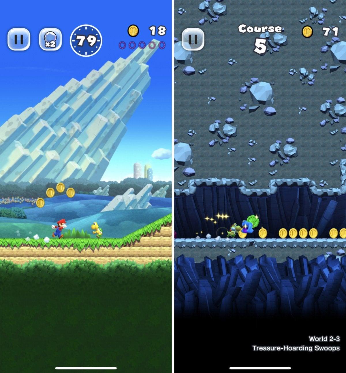 iphonex games supermario