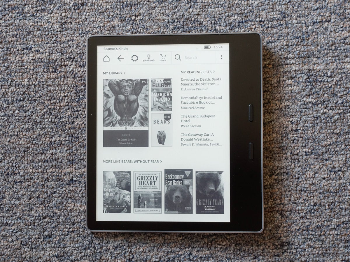 kindle oasis design