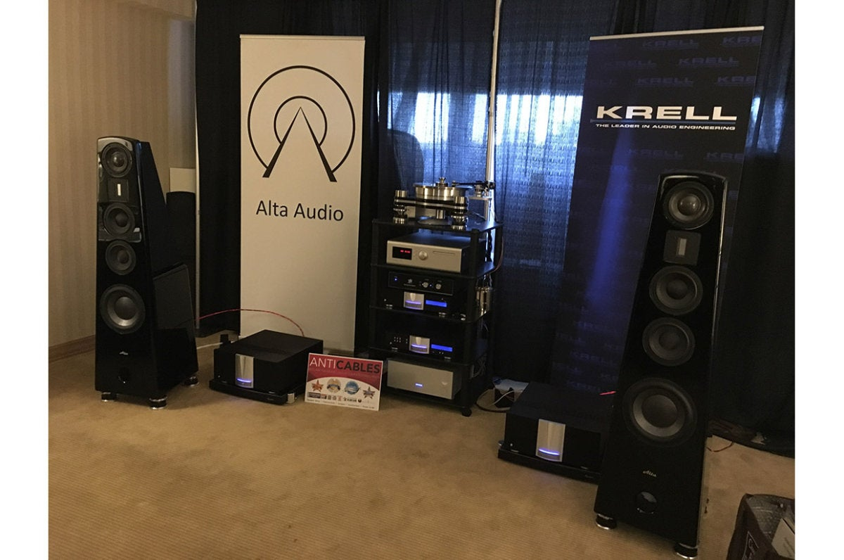 Alta Audio and Krell teamed up for some stellar sound.