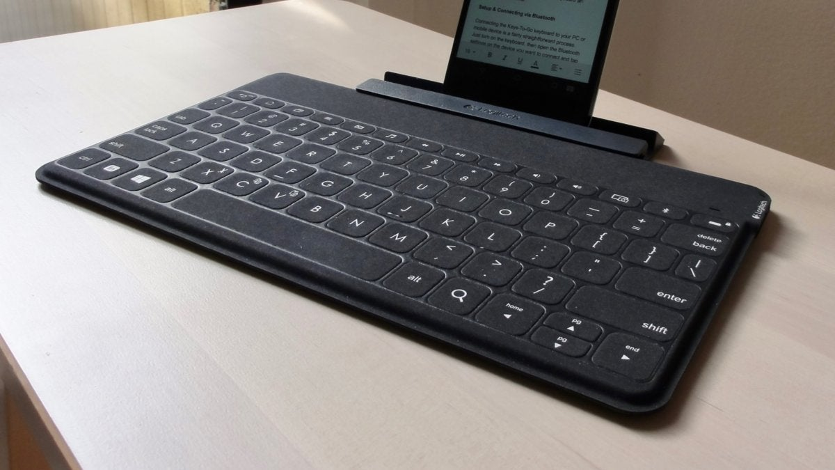 Logitech Keys-To-Go review