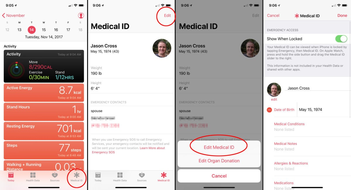 medical id how to