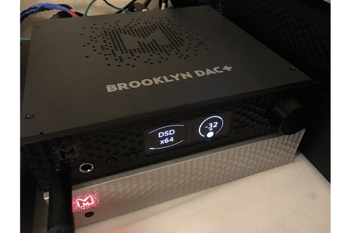 Mytek's Brooklyn DAC+ can decode MQA files.