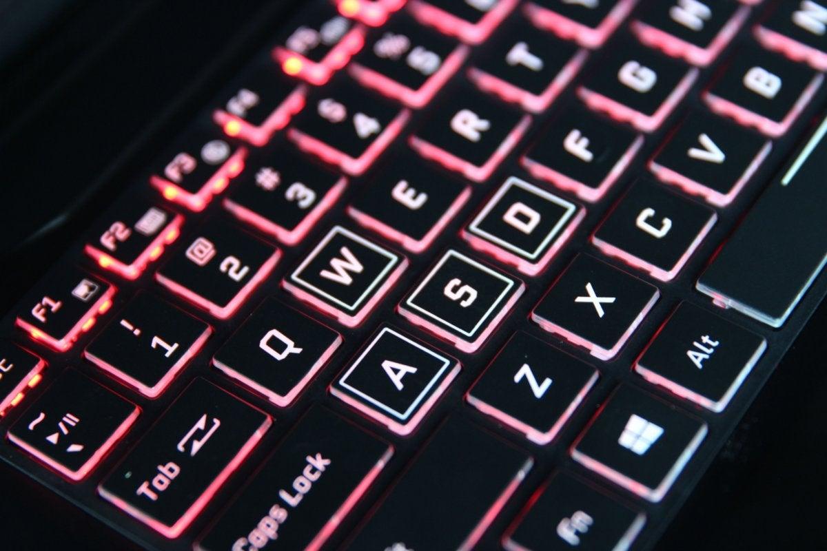 origin evo15 s keyboard
