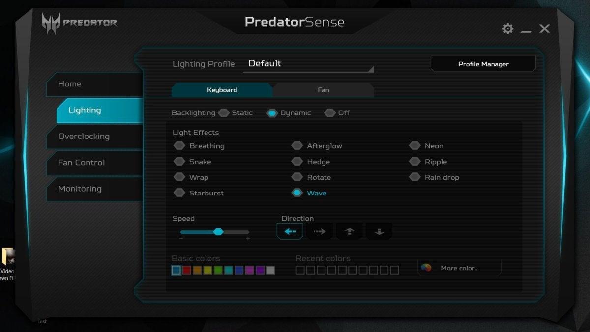 predatorsense rgb