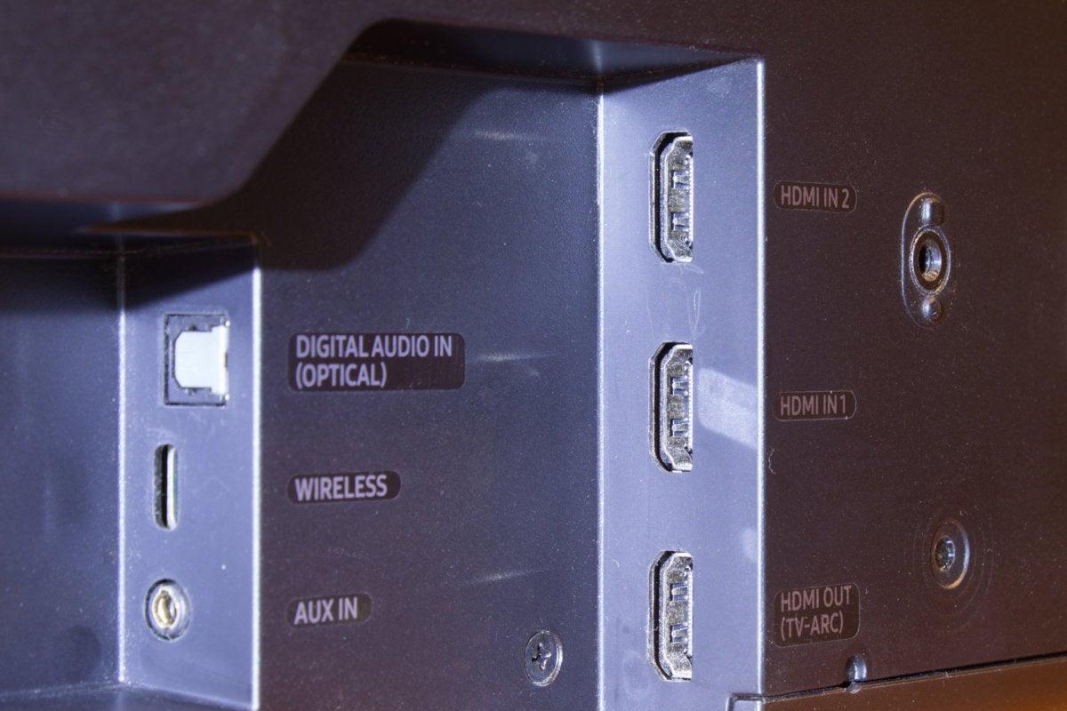 Samsung HW MS750 HDMI
