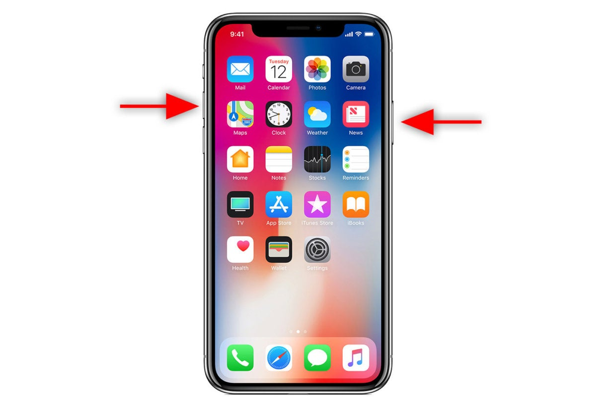 how do you screenshot on iphone how to take a screenshot on the iphone x macworld 5472