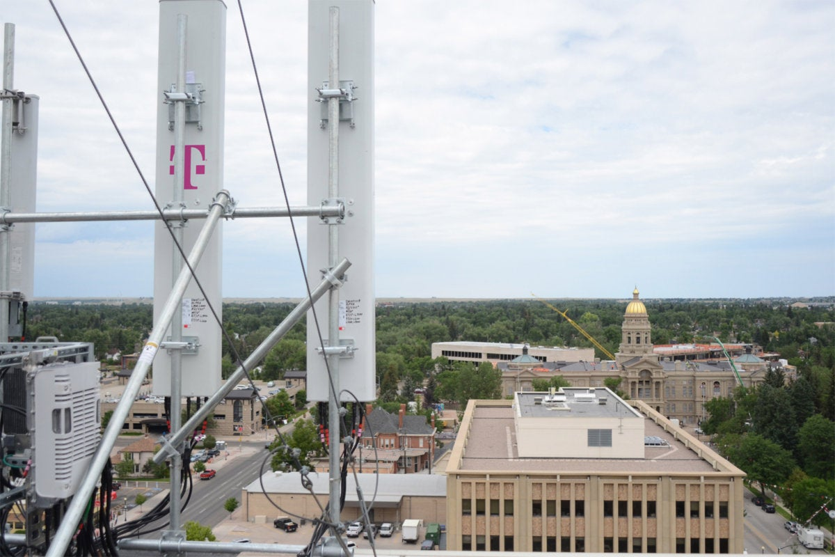 t mobile lte cell tower