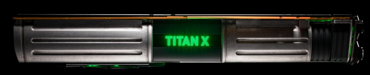 titan xp lightsaber