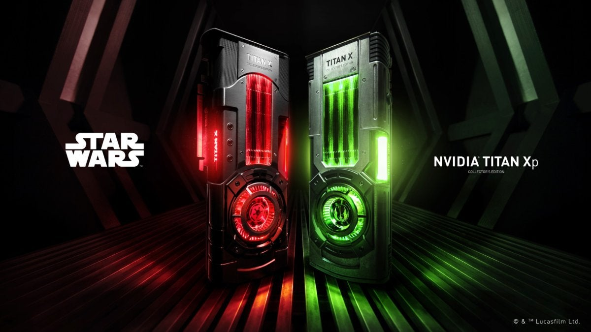 Nvidia's Star Wars Titan Xp Collector's Edition embraces ...