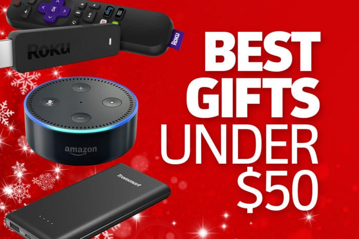 Awesome tech gifts that cost $50 or less