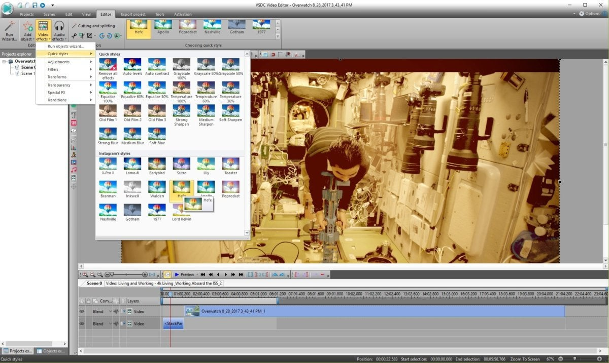 VSDC review: This free video editor holds back too much