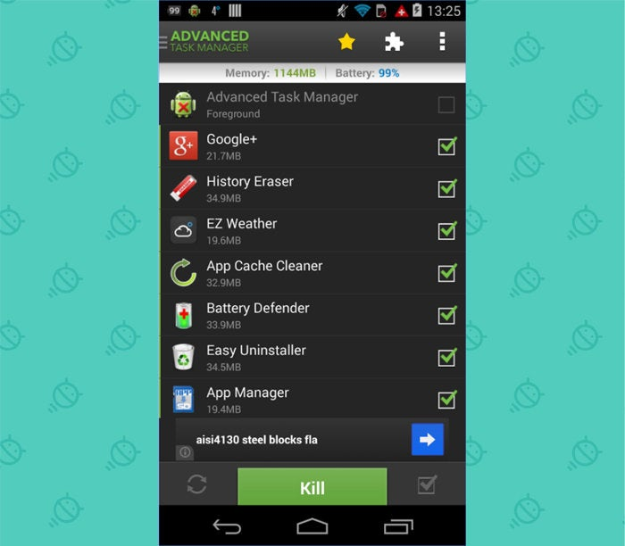 Android Nostalgia - Forgotten Apps: Advanced Task Manager