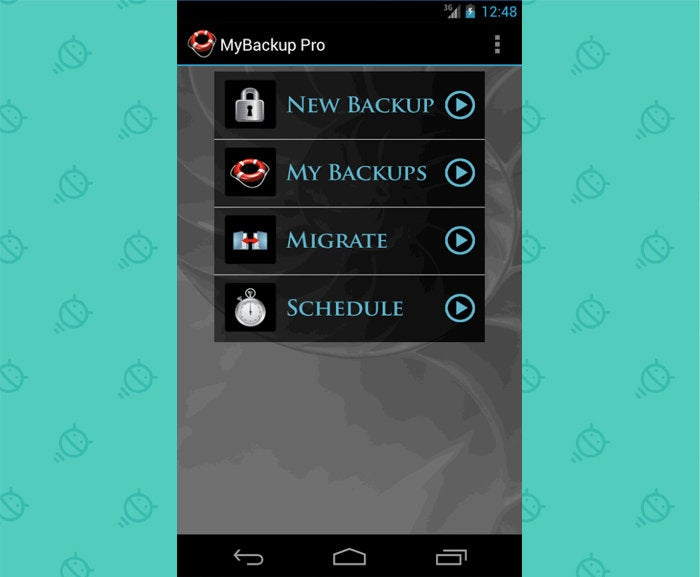 Android Nostalgia - Forgotten Apps: My Backup Pro
