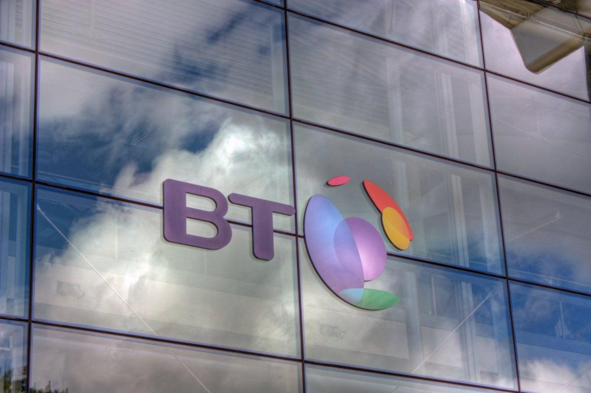 BT logo, British Telecom