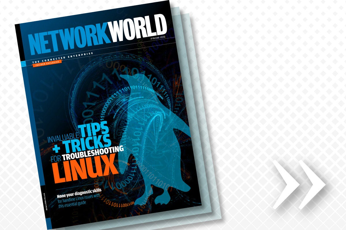 Network World - Insider asset - Invaluable Tips + Tricks for Troubleshooting Linux [Winter 2018]