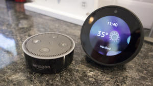 amazon alexa spot dot