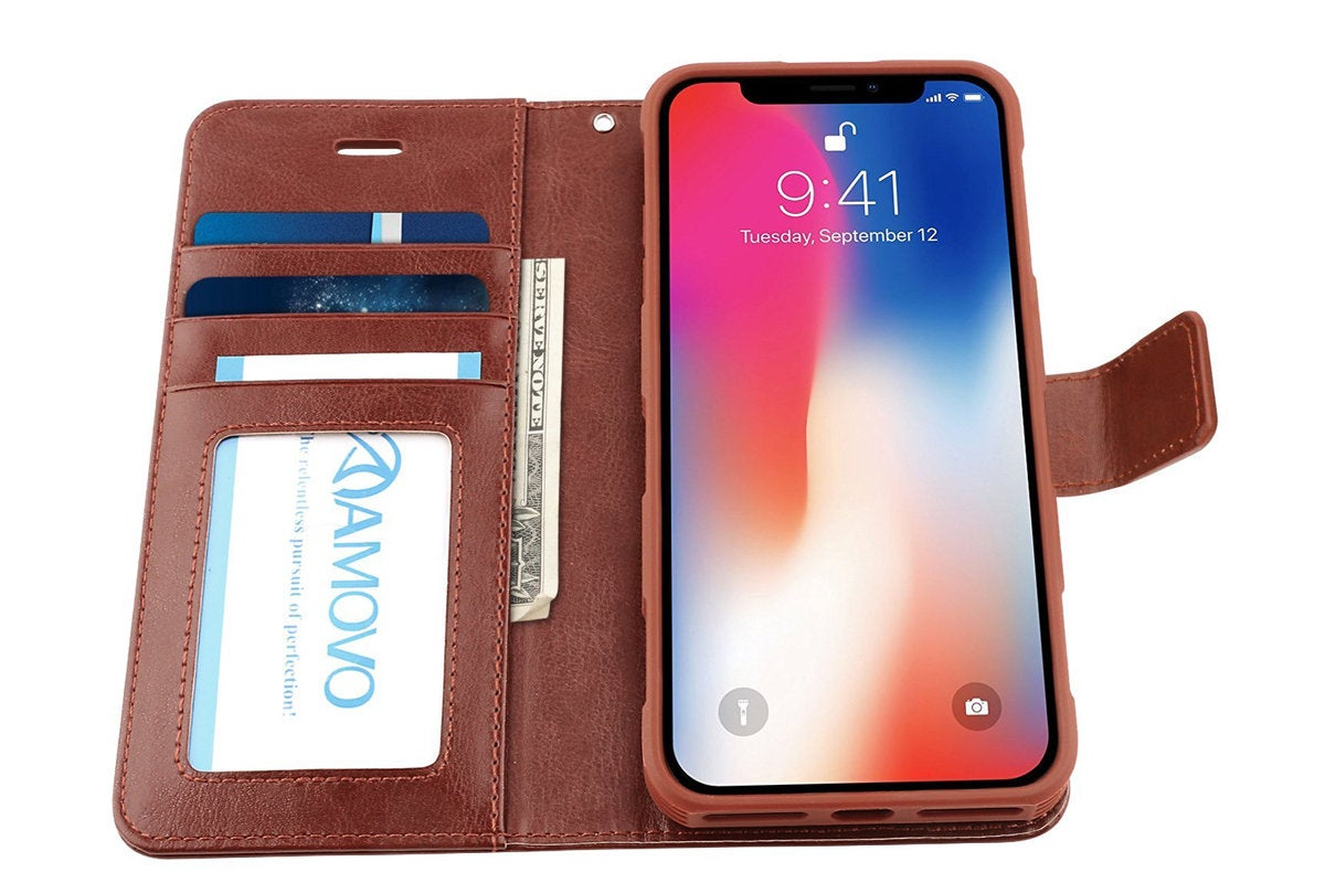 amovo iphone x wallet