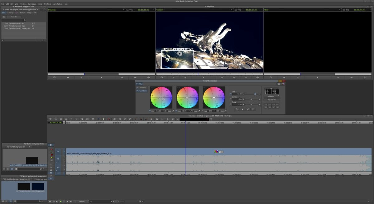 avid color correction