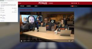 chrome beta pcworld video