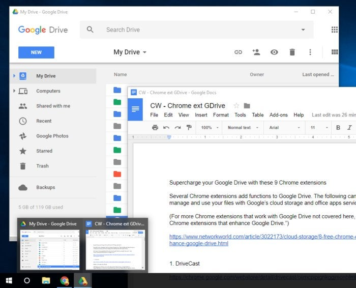 Chrome extensions for Google Drive - Drive Companion