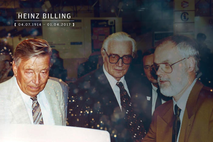 Computerworld - In Memoriam 2017 - Heinz Billing [ April 7, 1914 – January 4, 2017 ]