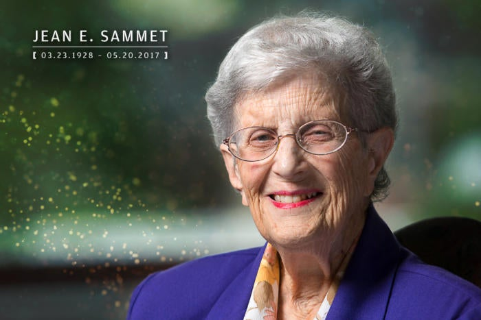 Computerworld - In Memoriam 2017 - Jean Sammet [ March 23, 1928 – May 20, 2017 ]