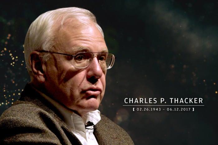Computerworld - In Memoriam 2017 - Charles Thacker [ February 26, 1943 – June 12,2017 ]