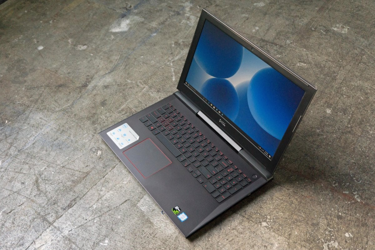 Dell Inspiron 15 7000 Gaming Laptop review: The discrete GPU is the