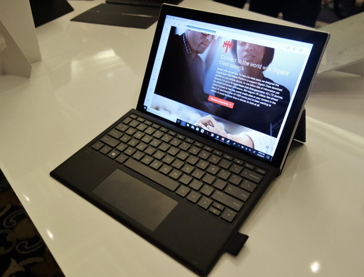 HP Envy x2 Qualcomm Snapdragon PC platform