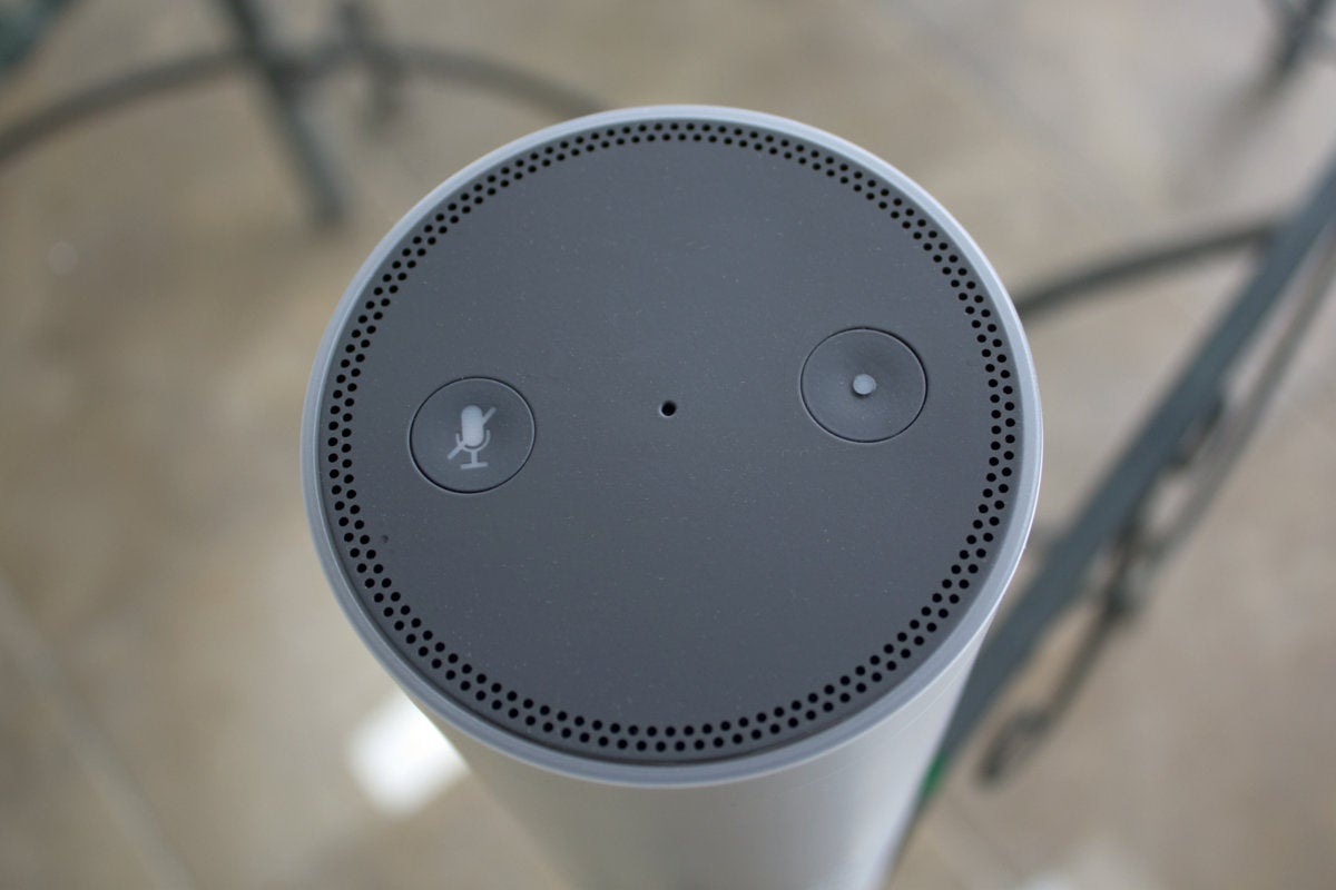 Amazon Echo Plus buttons
