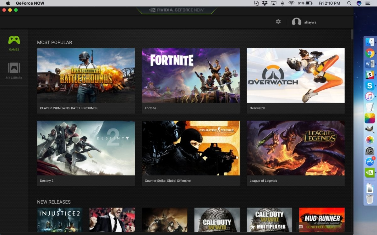GeForce Now: Stream PC games to your Mac | Macworld