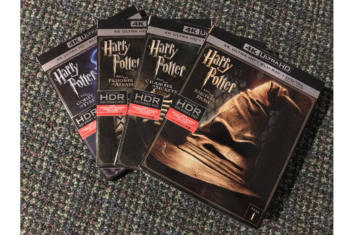 I tested DTS Virtual:X with the newly remastered Harry Potter UltraHD Blu-rays with DTS:X 3D-audio.