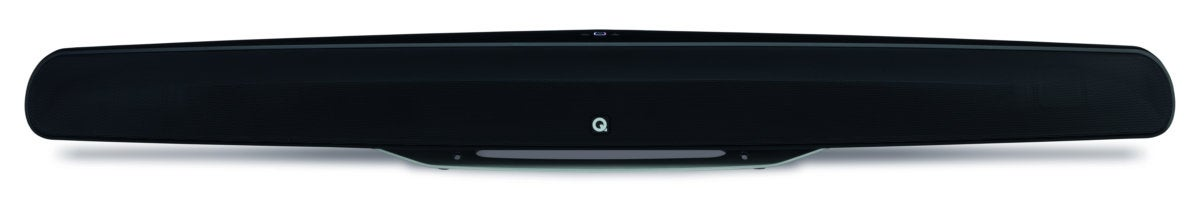 Front view of the Q Acoustics M3 sound bar.