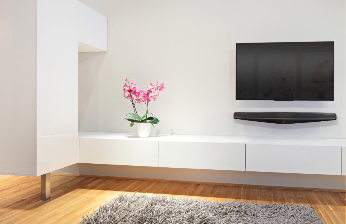 The Q Acoustics M3 sound bar is a beautifully-designed sound bar that accentuates any TV.