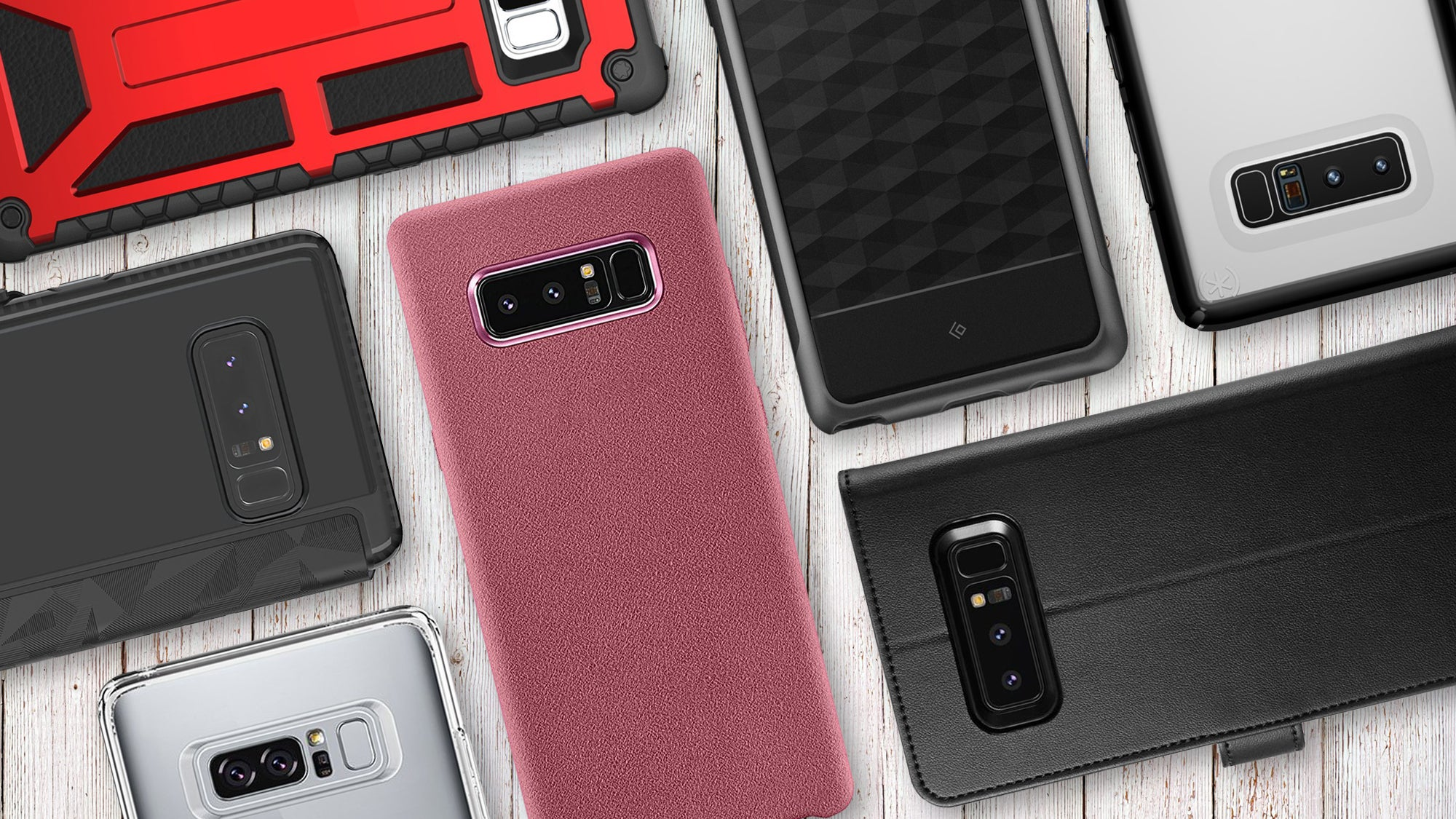Best Samsung Galaxy Note 8 Cases Top Picks In Every Style Pcworld Spigen Neo Hybrid Crystal S8 Plus Gun Metal Case Hub